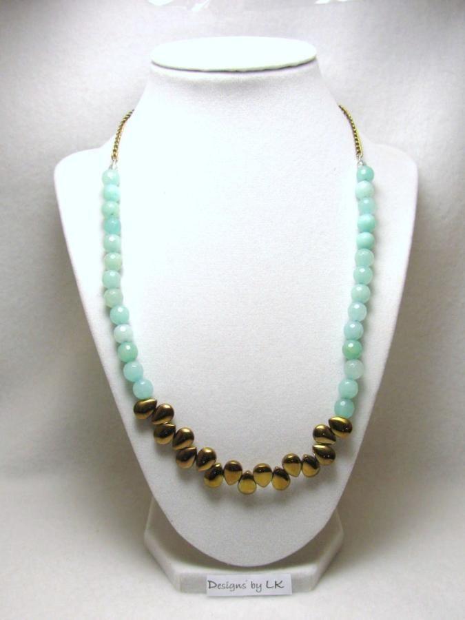 Tears of Jade 2 - Jewelry creation by Linda Foust