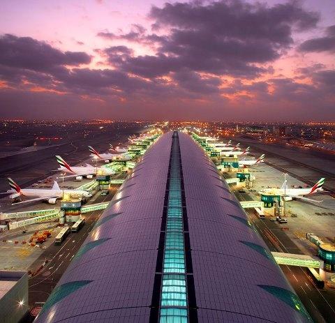 Dubai Airport - Home of Emirates...obviously!