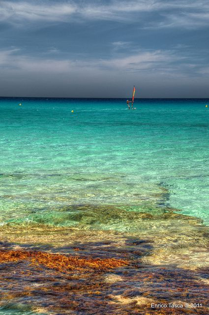 Playa Es Copinar, Formentera, Spain