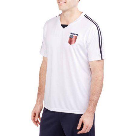 Big Men's USA Soccer Jersey, Size: 3XL, White