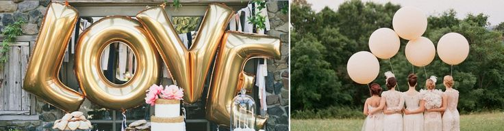 Wedding Balloons For Sale - Large Round Balloons Pastel Colours, Silve - The Wedding of My Dreams