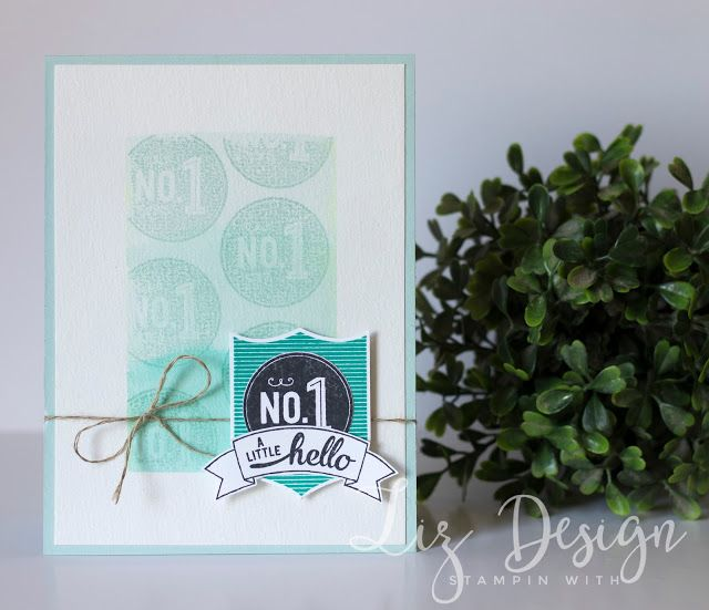 Stampin Up Badges & Banners by Stampin with Liz Design