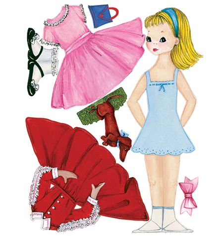 Top 429 Ideas About Paper Doll Betsy Mccall On Pinterest