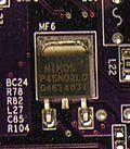 Tranzystor polowy, tranzystor unipolarny – tranzystor, w którym sterowanie prądem odbywa się za pomocą pola elektrycznego.