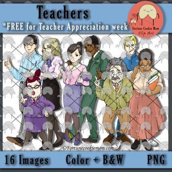 FREE during Teacher Appreciation Week  Clip Art  Teachers  https://www.teacherspayteachers.com/Product/Teachers-Clip-Art-FREE-for-Teacher-appreciation-week-3138323?utm_source=Pinterest&utm_campaign=Teachers'%20Clip%20Art