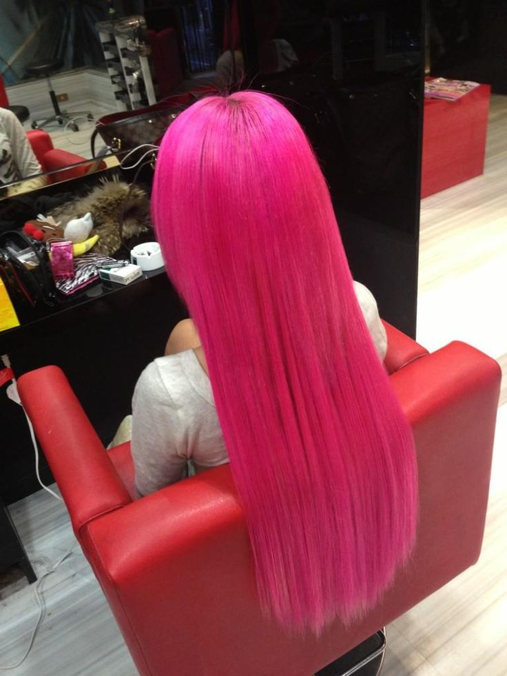 31 best pink hair extensions images on pinterest hairstyles hot pink hair too crazy for me but i love the color pmusecretfo Image collections