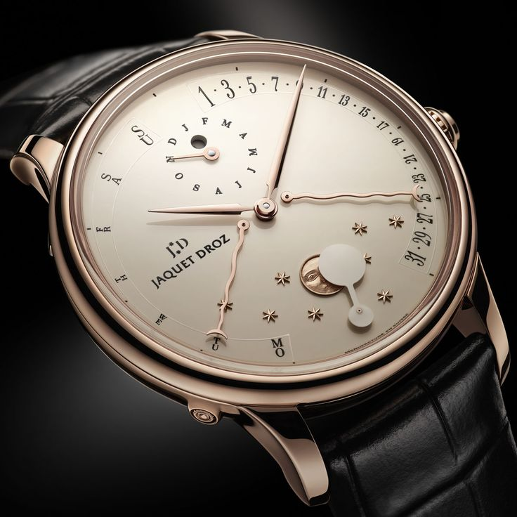 Jaquet Droz Quanto me Perpetual eclipse DestinationMars | Raddest Men's Fashion Looks On The Internet: http://www.raddestlooks.org