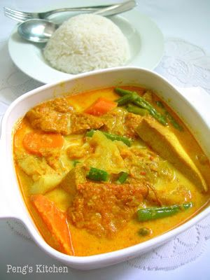 Lontong Sayur Lodeh/Mix Vegetable in Coconut Broth