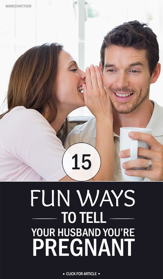 15 Fun Ways To Tell Your Husband You Are Pregnant: Did you just have your home pregnancy test which appeared positive? And you have butterflies in your stomach, on how to share it with your husband?We bring to you some naughty yet cool and amusing ways to express the feeling. Just read this post. #pregnancy