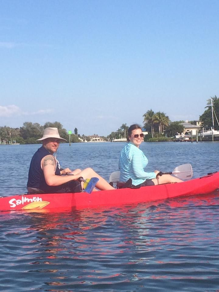 Kayaking from our #AnnaMariaVacationRentalHome, find your waterfront home at http://beachrentals.mobi/