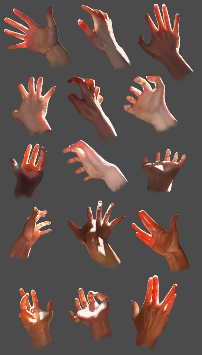 Hand gestures - 06-090508 by ~teyoliia on deviantART join us http://pinterest.com/koztar/cg-anatomy-tutorials-for-artists/