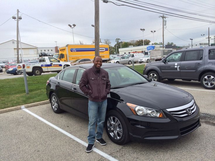 Thanks and congratulations Akyem on your 2012 Certified Pre-Owned Honda Accord  from us here at the   #ConicelliAutoplex.  Your friend,  Hasaan Ricks