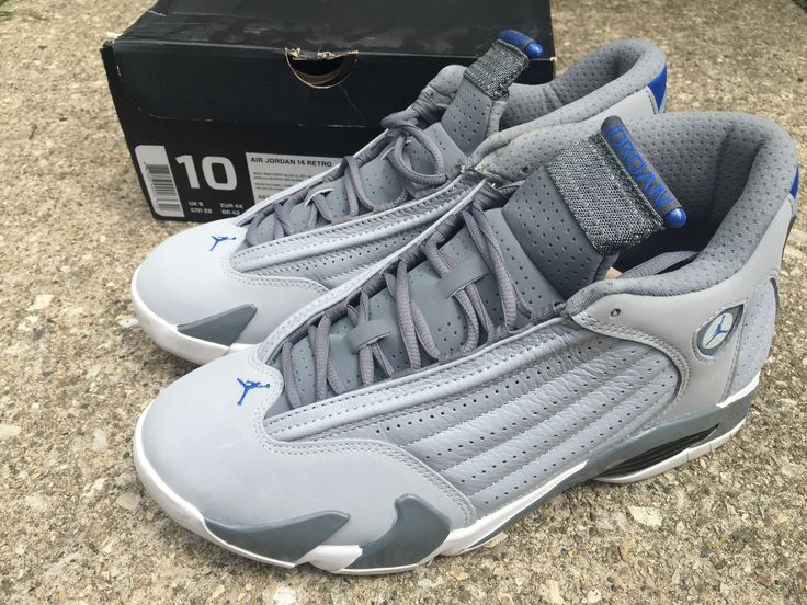 "Air Jordan Retro 14 ""Wolf Grey"" Sz. 10"