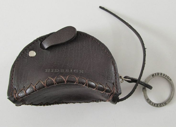 #Hidesign by #Radley small mouse brown #leather #coinpurse handbag attachment 14306 #style #love #follow #ebayauction