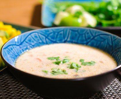 Soupe Tom Kha Kai (Thailande) : Recette de Soupe Tom Kha Kai (Thailande) - Marmiton
