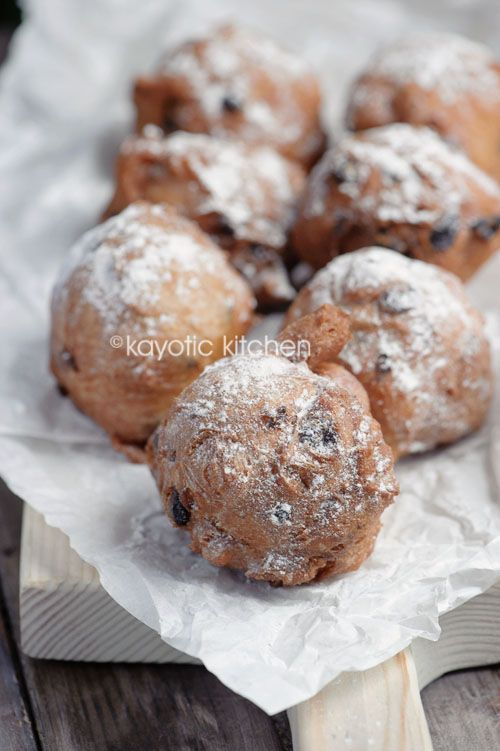 Oliebollen - making this for New Years Eve!  It will be my first time attempting this Dutch treat so wish me luck!