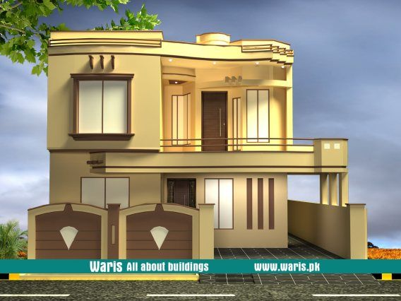 35x65 10 Marla House Design In Gujranwala Pakistan House Front