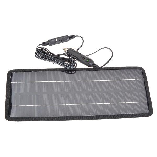 12V 4.5W Polysilicon Solar Panel Coche Batería Cargador para Coche / Camión