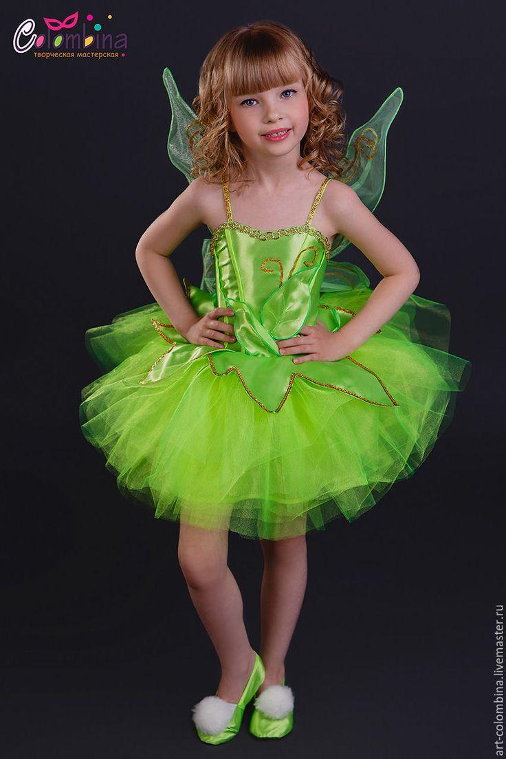 Детские карнавальные костюмы ручной работы. Костюм феи Динь Динь. Olga…