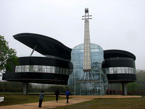 Art Best Architecture Design Top Wonders Architectural World Piano House  China | Projetos Para Experimentar |