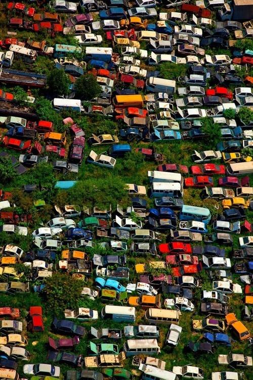 #scrap #cars #colour http://www.metalrecyclers-brisbane.com.au/