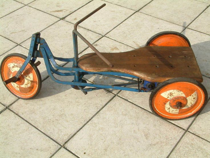 Antikes Kinderfahrzeug, Holländer, Dreirad, Ruder Renner –---- Rarität  | eBay
