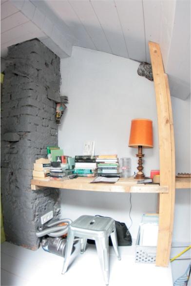 ...studio desk mezzanine