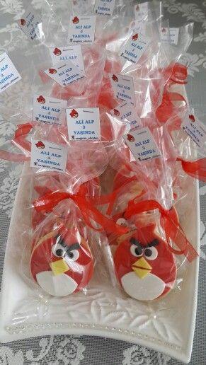 ❤ Angry Birds Kurabiye ❤