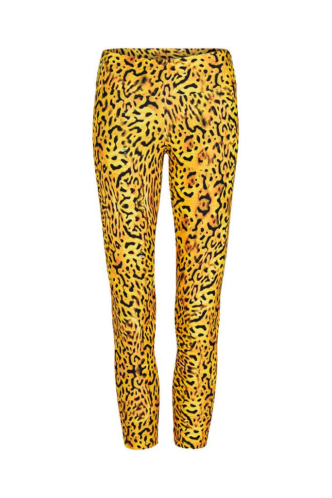Golden Tiger Butterfly Printed Yoga Legging - 3/4 – Dharma Bums Yoga and Activewear