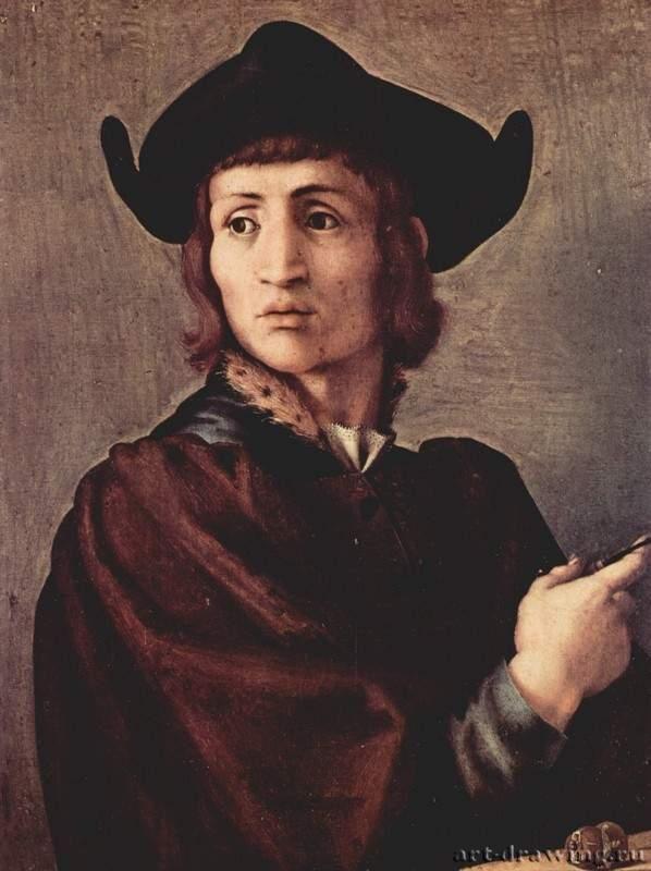 Понтормо. Портрет ювелира. 1517-1518  Париж. Лувр