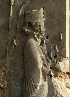 Xerxes I of Persia(519–465 BC), was the 4th King of Kings of Persia. In 465 BC, Xerxes was murdered by Artabanus, the commander of the royal bodyguard and the most powerful official in the Persian court. Although Artabanus bore the same name as the famed uncle of Xerxes, a Hyrcanian, his rise to prominence was due to his popularity in religious quarters of the court and harem intrigues. He put his seven sons in key positions and had a plan to dethrone the Achamenids.