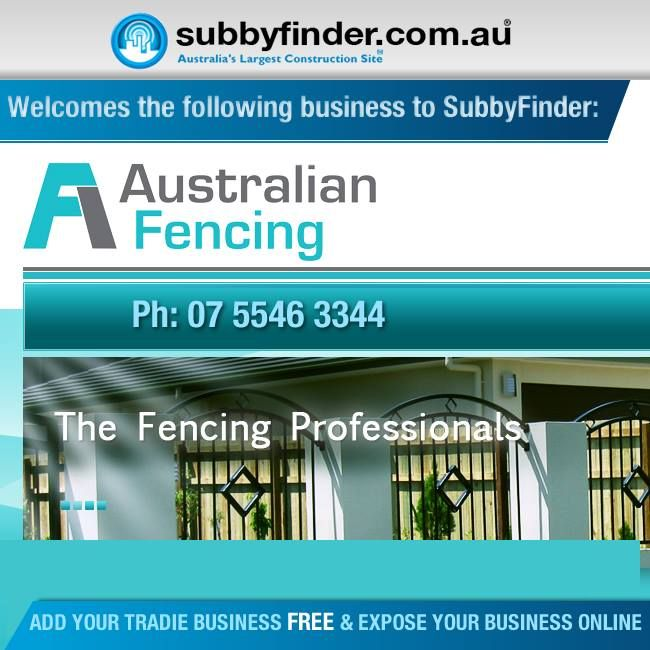 It's FREE to register your Tradie business on Subbyfinder.com.au Building your SubbyFinder profile is quick and easy. Fill out your industry experiences, industry type and any other forms of expertise in your industry.  #subbyfinder #tradie #tradies #fencing #australianfencing
