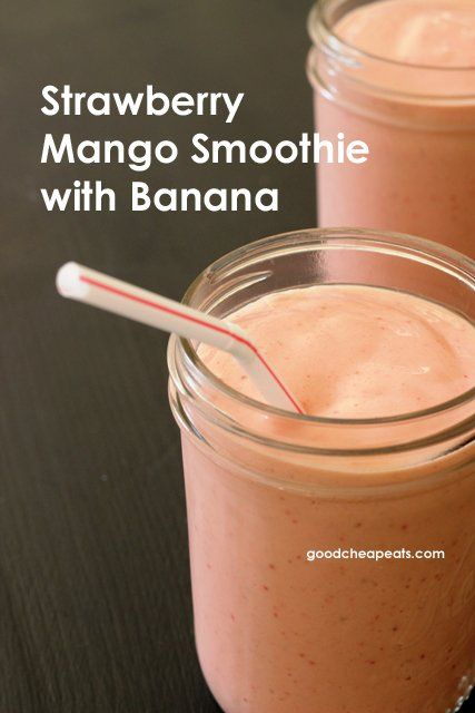 Strawberry Mango Smoothie but substitute almond coco blend milk & no yogurt. Making it this morning on the run