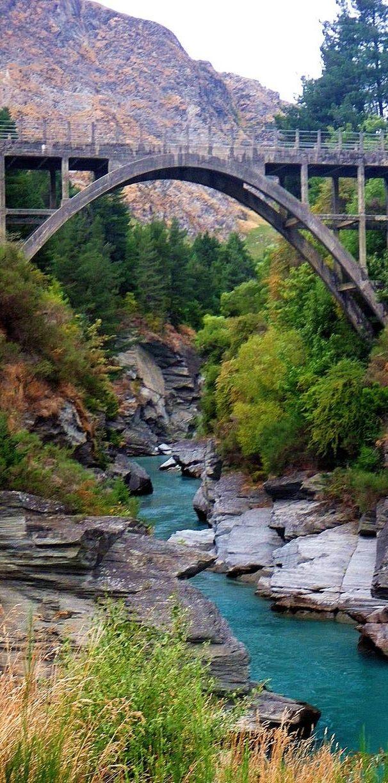 Edith Cavell Bridge - Queenstown, New Zealand