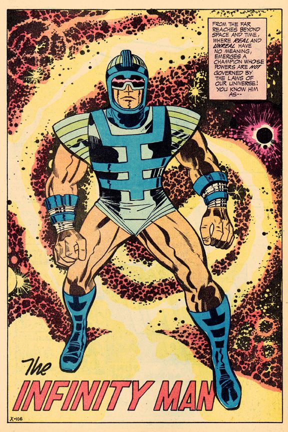 Infinity Man by Jack Kirby