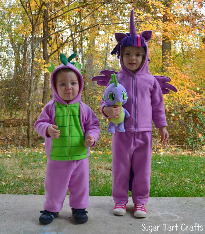 important supplies update for the my little pony costumes - Halloween My Picture