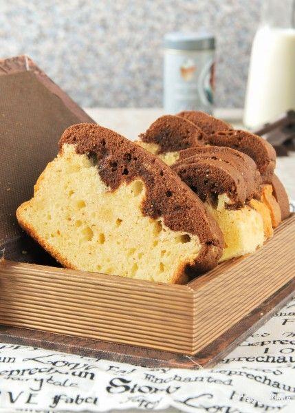 Bizcocho de vainilla y chocolate | L'Exquisit