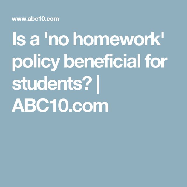 no homework policy No-homework policies are popping up all over, including schools in the us, where the shift to the common core curriculum is prompting educators to rethink how students spend their time.