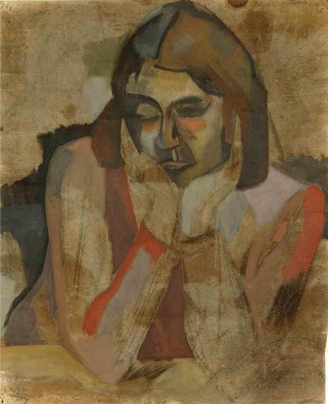 ALONGTIMEALONE: lilithsplace:   Anne, 1942 - Colin McCahon...