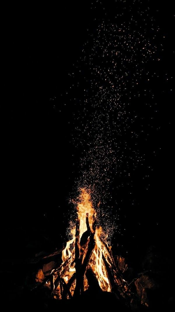 Wallpaper Api Unggun Latar Belakang Dan Pemandangan