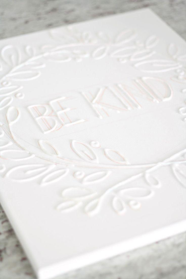 Make Canvas Wall Art with Glue – diycandy.com