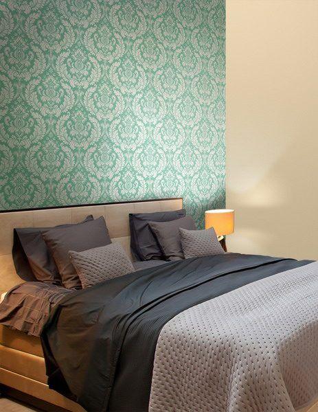 Entzuckend Schlafzimmer Wallpaper Trends 2019   Beliebtesten Design Ideen Für Accent  Wall #livingroom #wandfarbe