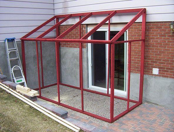 Temporary Porch Enclosures