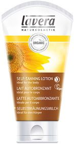 Lavera Self Tanning Lotion - A delicate tan for the body With organic macadamia oil & organic sunflower oil. The Lavera Self-tanning Lotion is easy to apply on the skin and so enables an even tan. Moisturising skin care and gives a fresh, natural summer complexion throughout the year, for men and women. Vegan. http://www.theremustbeabetterway.co.uk/lavera-self-tanning-lotion.html