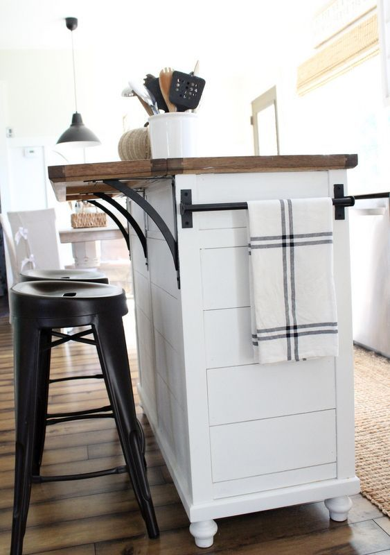 Solution For Narrow Kitchen Islands
