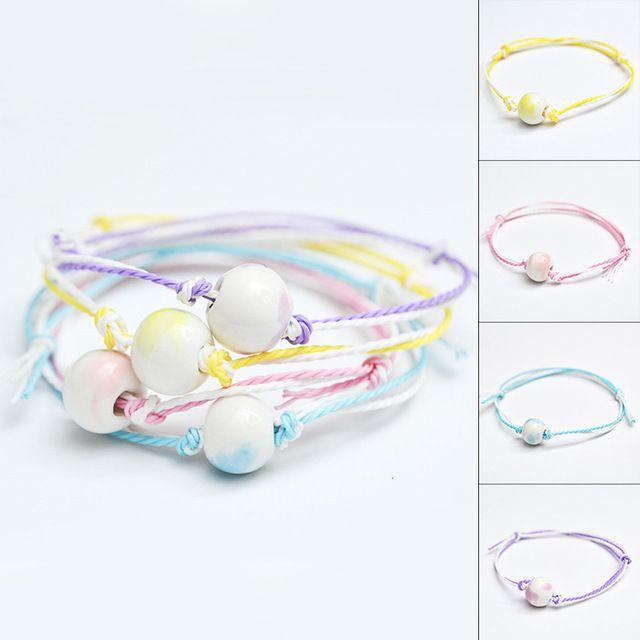 Moda diseño de la joyería hechos a mano pulsera del acoplamiento de cadena mujeres hombres pulseras brazaletes de regalos 1 unids/lote HL23