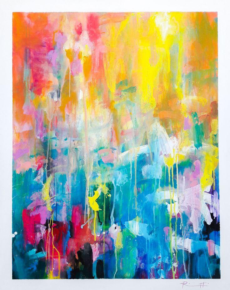 "Davide Ricchetti ""the forest thresholds"", acrylic on canvas, 2016"