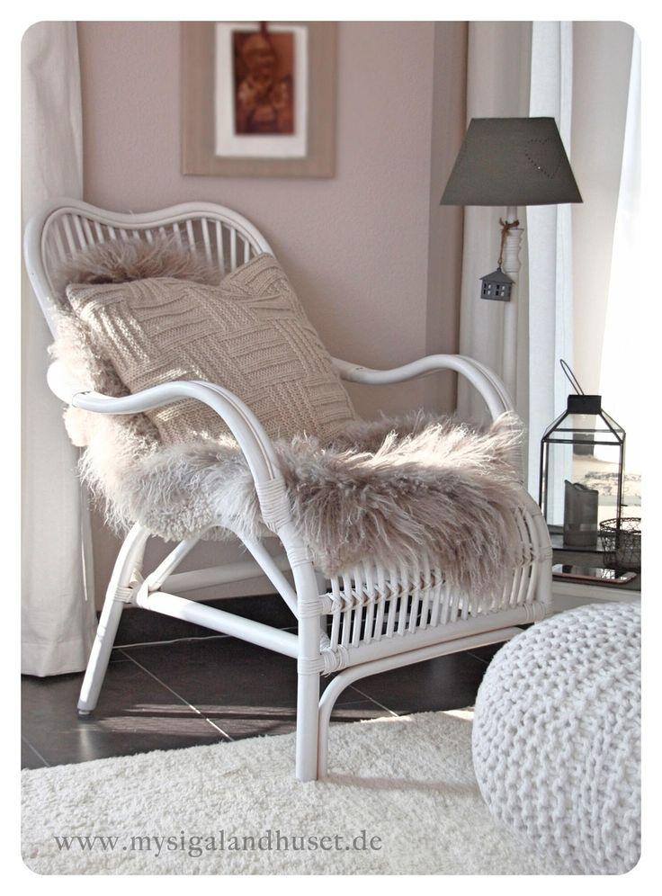 Sessel weiß  Die besten 25+ Sessel weiß Ideen auf Pinterest | Sesselbezug, Ikea ...