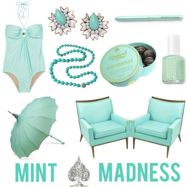 Mint MadnessMintgreen, Mint Green, Mint Mad, Inspiration, Spring Nails, Tiffany Blue, Club Chairs, Mint Colors, Peacocks Feathers