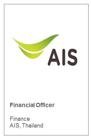 Financial Officer Finance AIS, Thailand